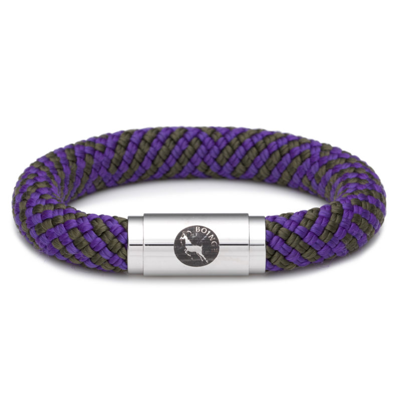 Boing – Chunky XLarge Wristband in Purple Emperor