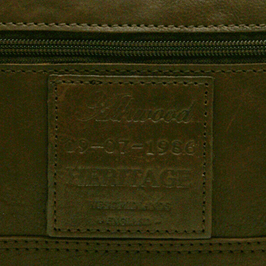 Ashwood – Brown Heritage Wash Bag in Cow Oily Leather
