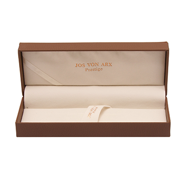 Jos Von Arx – Prestige Black and Silver Plate Roller Ball and Ball Point Pen Gift Set