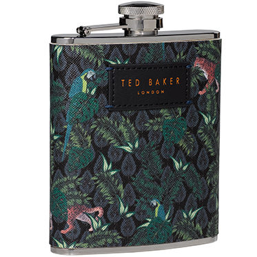 Ted Baker – Jungle Print Hip Flask