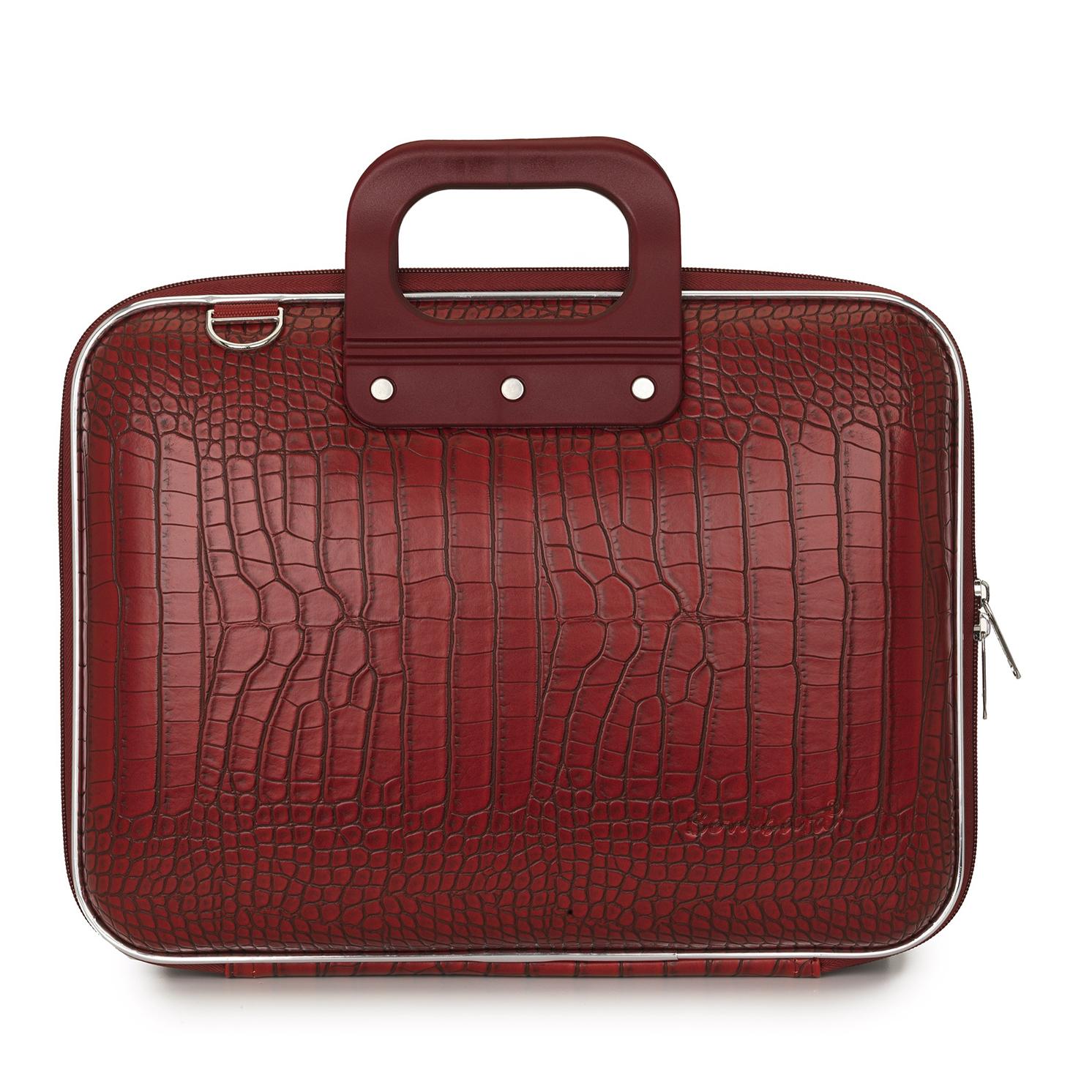Bombata – Red Medio Cocco 13″ Laptop Case/Bag with Shoulder Strap