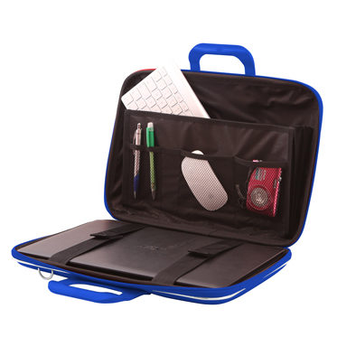 Bombata – Cobalt Blue Classic 15″ Laptop Case/Bag with Shoulder Strap