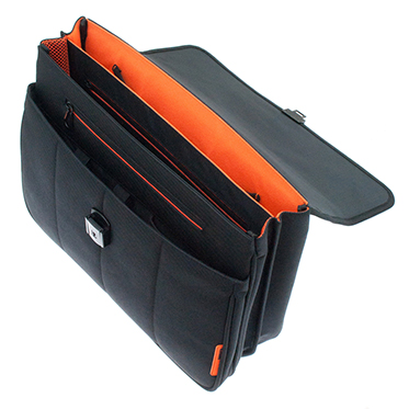 Davidt's – Black Laptop Briefcase Business Bag from The Chase Range