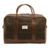 Rowallan – Tan Distressed Cowhide Leather Travel Bag/Holdall with Strap