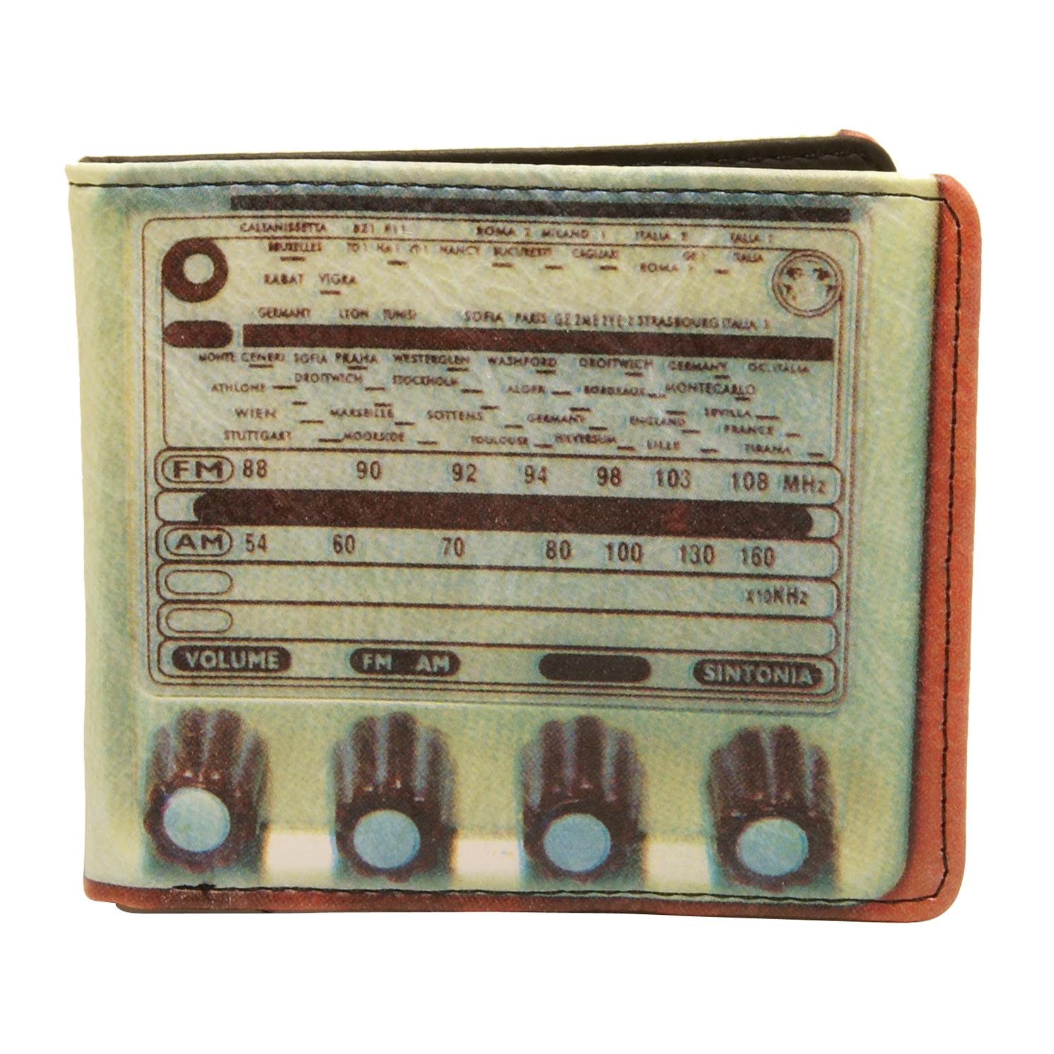 Plan B – Retro Inspired 70's Radio Billfold Wallet