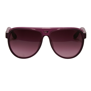 Diesel – Purple Aviator Style Sunglasses with Case