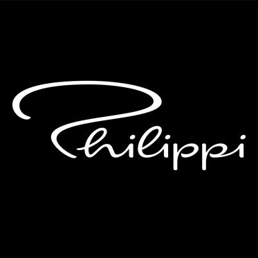 Philippi – Dark Grey Leather 'ALEGRO' Passport Holder in Gift Box