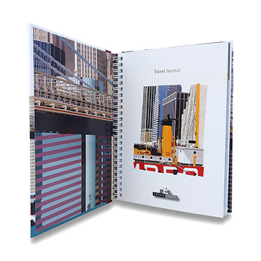 Leslie Gerry – New York Pier 17 Travel Journal/Notebook