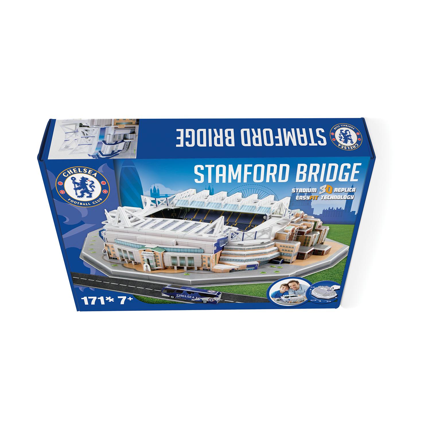 Paul Lamond Games – Chelsea Stamford Bridge Stadium 3D Puzzle