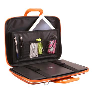 Bombata – Orange Cocco 15″ Laptop Case/Bag with Matching Shoulder Strap