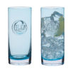 Dartington Crystal – H2O Collection Glass Carafe and Up Glass in Gift Box