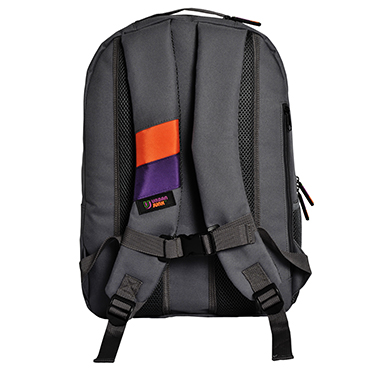 Urban Junk – Bionic Grey 3rd Dimension Embossed Rucksack/Backpack