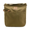 Troop London – Brown Heritage Messenger/Across Body Bag in Canvas-Leather