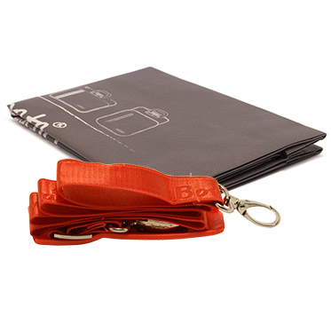 Bombata – Orange Medio Cocco 13″ Laptop Case/Bag with Shoulder Strap