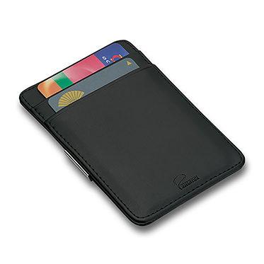 Philippi – Giorgio Black Leather Credit Card Holder and Money Clip