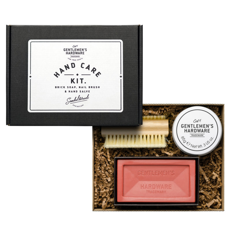 Gentlemen's Hardware – 3 Piece Hand Care Kit Gift Set in Presentation Box