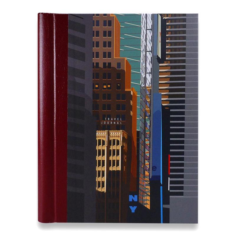 Leslie Gerry – New York Broadway Travel Journal/Notebook
