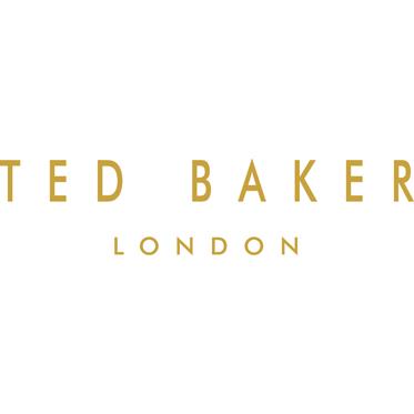 Ted Baker – Domino Set in Black Brogue Zip Around Case
