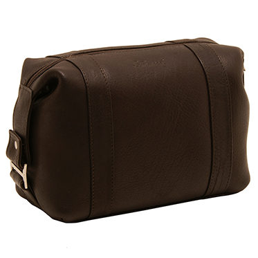 Ashwood – Brown Wash Bag in Buffalo Smooth Leather