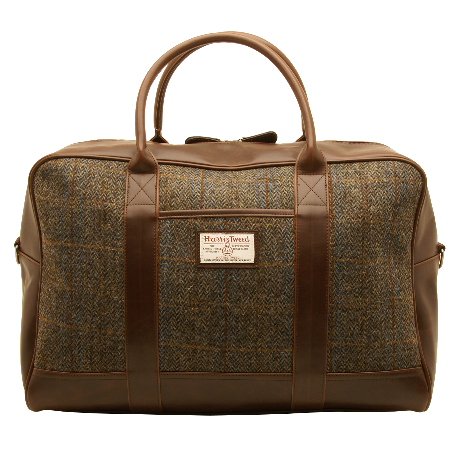 The British Bag Company – Carloway Harris Tweed Travel Holdall/Bag