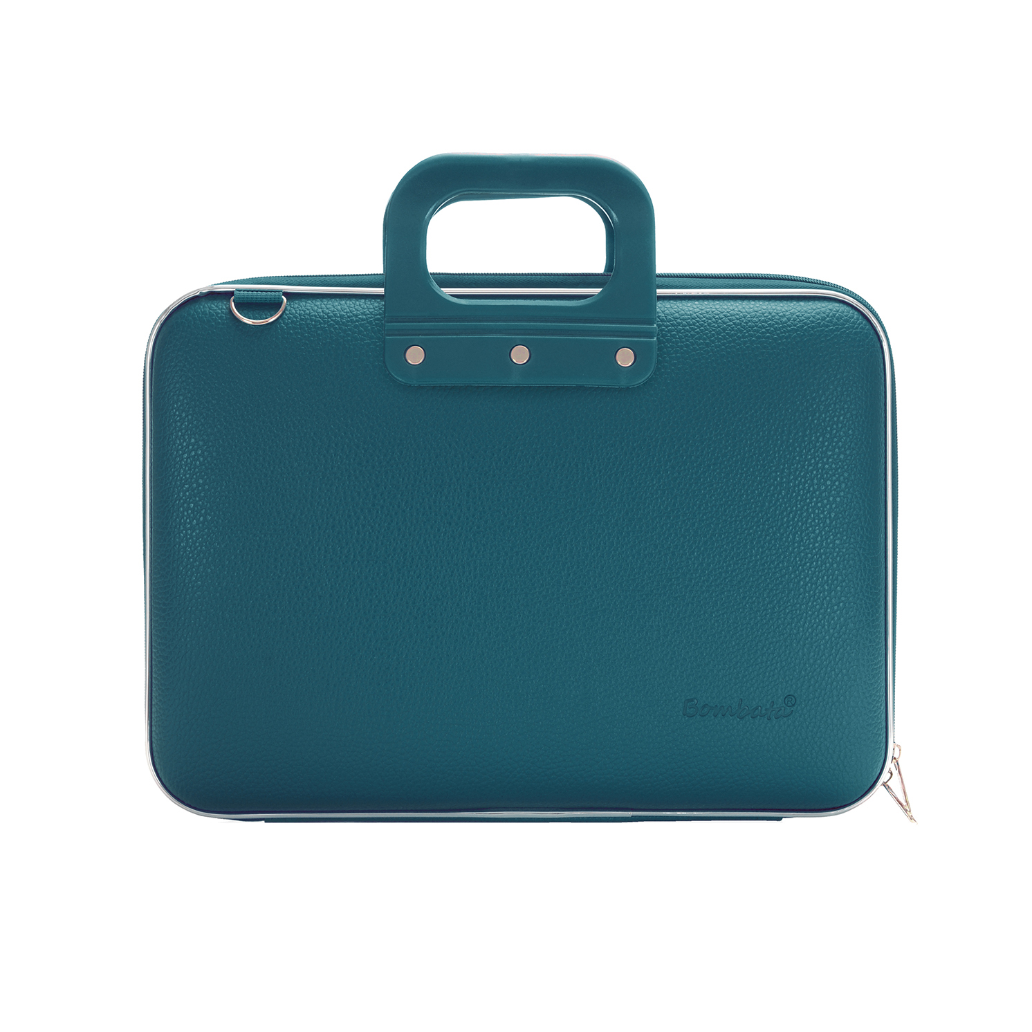 Bombata – Teal Blue Medio Classic 13″ Laptop Case/Bag with Shoulder Strap
