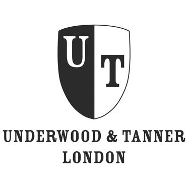 Underwood & Tanner – Black Leather Mike Shoreditch Medium Messenger Bag