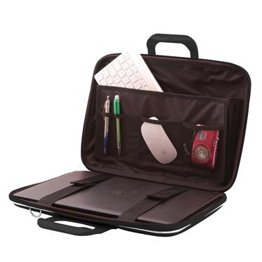 Bombata – Black Classic 15″ Laptop Case/Bag with Shoulder Strap