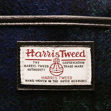The British Bag Company – Blackwatch Tartan Harris Tweed Bragar Travel Bag/Holdall