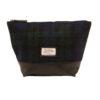 The British Bag Company – Tan Leather Wash Bag from The Rutland Range