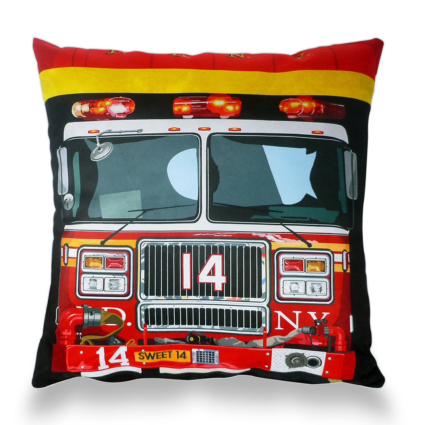 Leslie Gerry – New York Fire Department Cushion