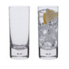 Dartington Crystal – H2O Collection Pair of Highball Glasses in Gift Box