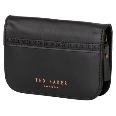 Ted Baker – 5 Piece Manicure Set in Black Brogue Zip Around Case