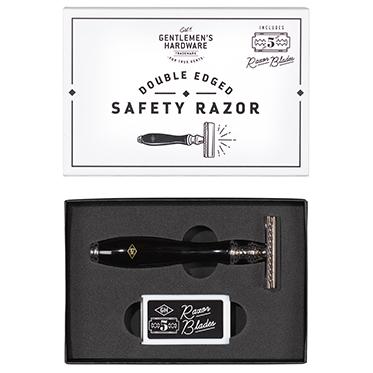 Gentlemen's Hardware – Double Edged Safety Razor in Gift Box