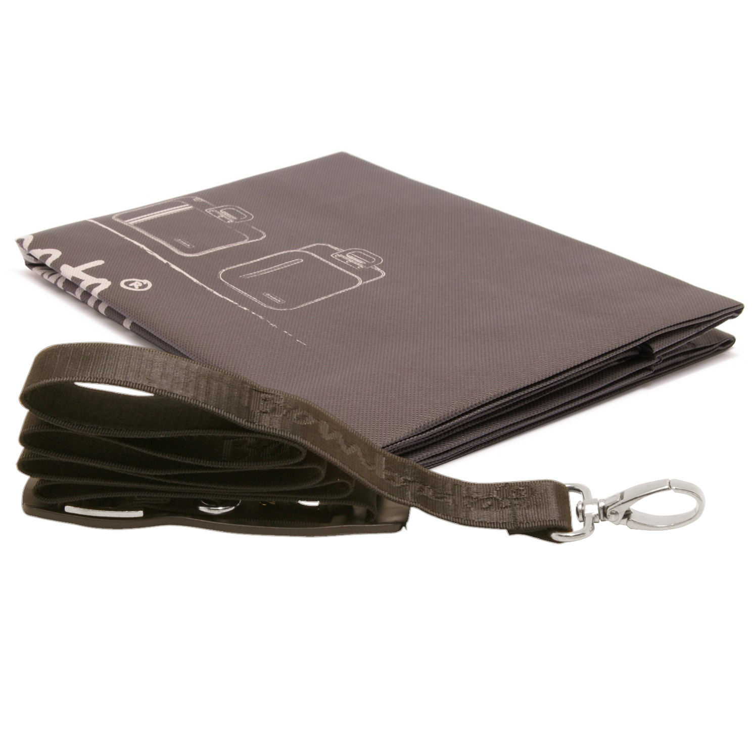 Bombata – Terracotta Brown Maxi Cocco 17″ Laptop Case/Bag with Shoulder Strap