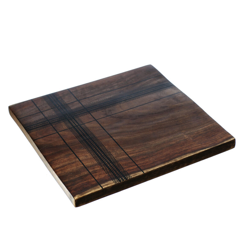The Just Slate Company – Highland Sheesham Wood Trivet in Presentation Gift Box
