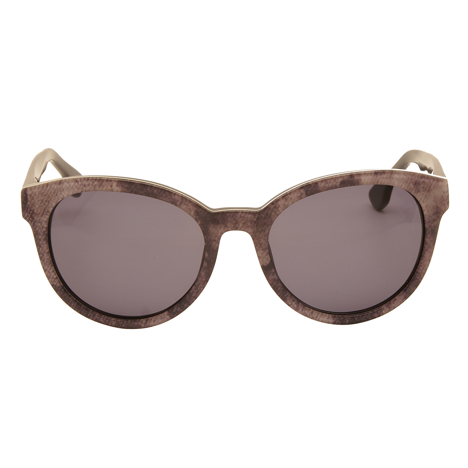 Diesel – Purple Cat Eye Style Sunglasses with Case
