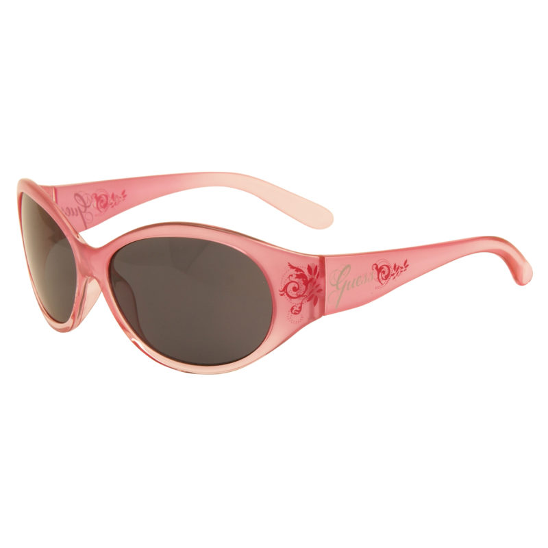 Guess – Pink Classic Style Sunglasses with Case