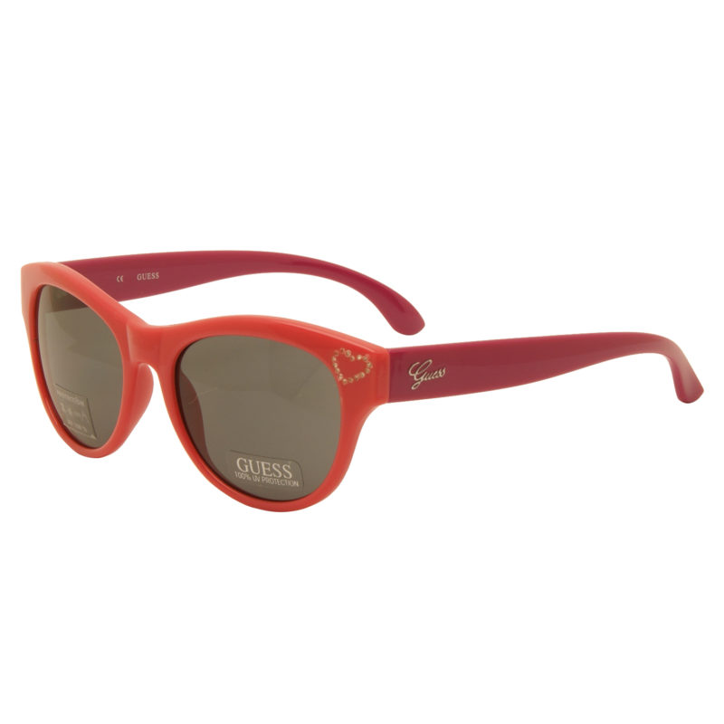 Guess – Pink and Purple Classic Style Sunglasses with Case