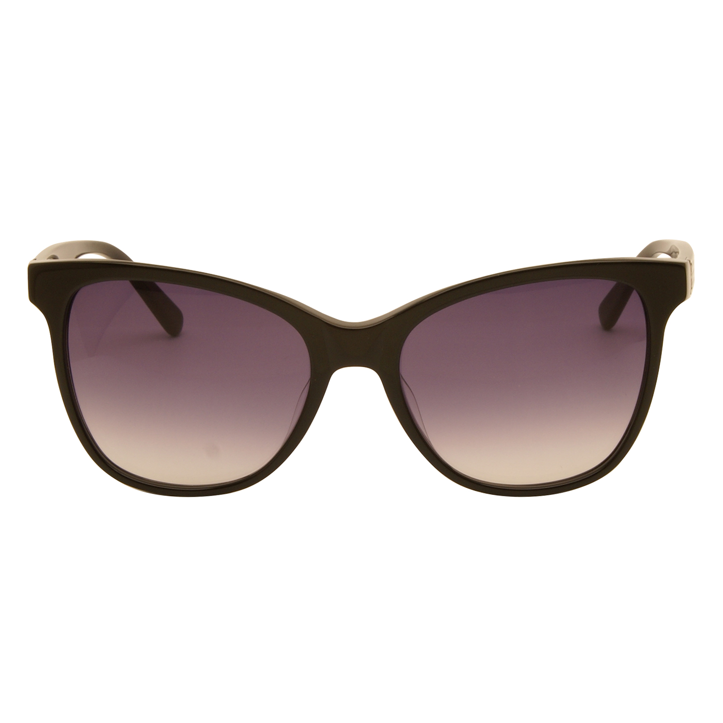 Love Moschino – Shiny Black Classic Style Sunglasses with Case