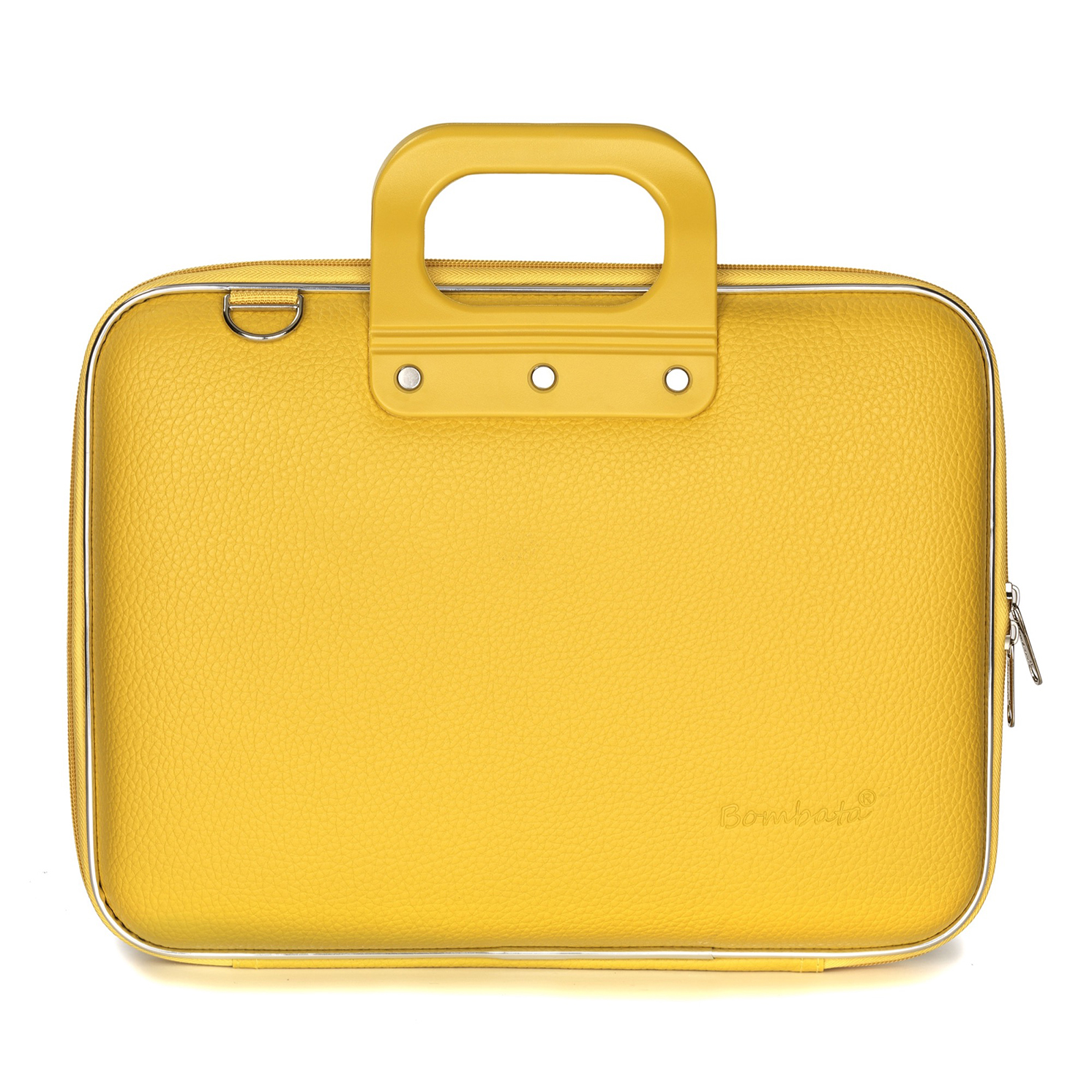 Bombata – Yellow Medio Classic 13″ Laptop Case/Bag with Shoulder Strap