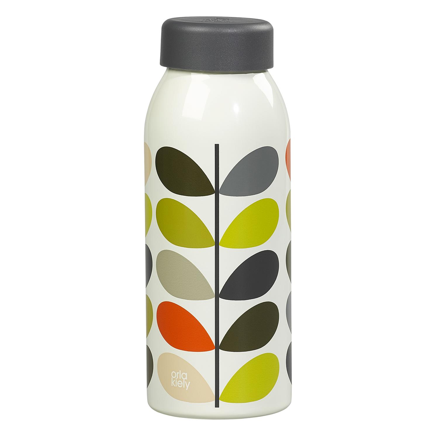 Orla Kiely – Multi Stem Print Stainless Steel Insulated Water Bottle