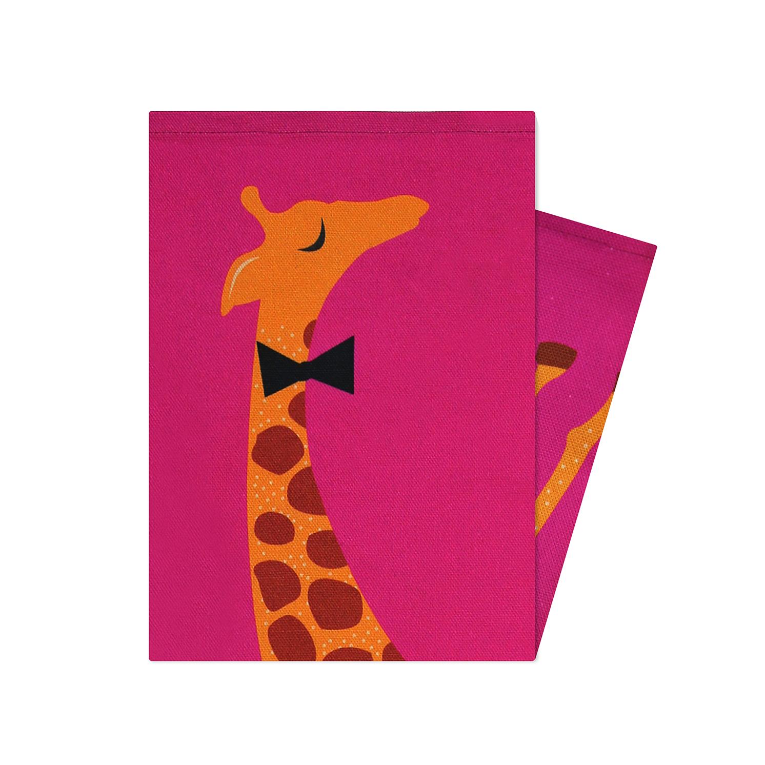 Sara Miller – Giraffe Tea Towel in Presentation Gift Box