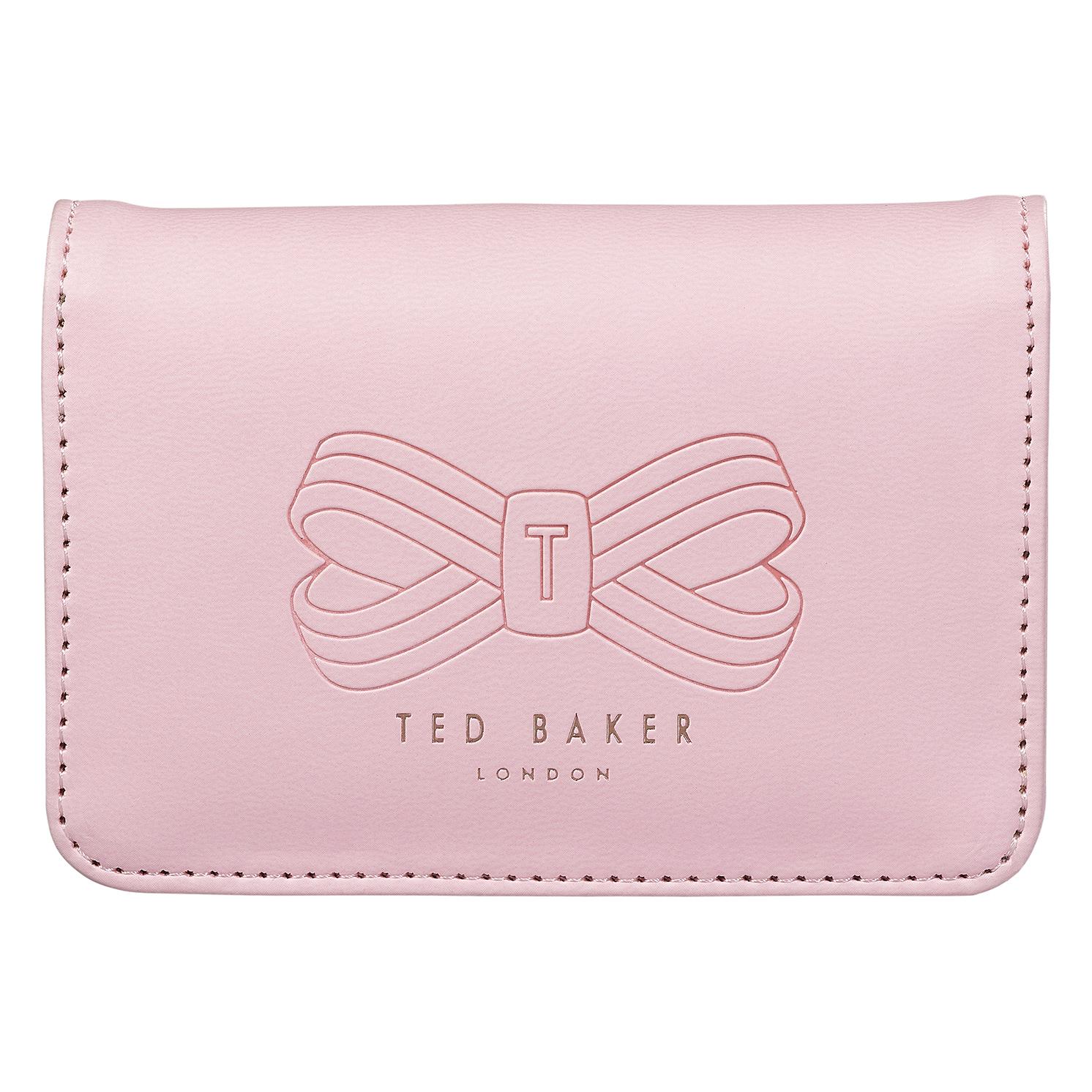 Ted Baker – 5 Piece Manicure Set in Pale Pink Zip Around Case
