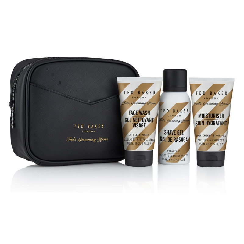 Ted Baker – Ted's Grooming Room The TUURKS Travel Trio Washbag Gift Set