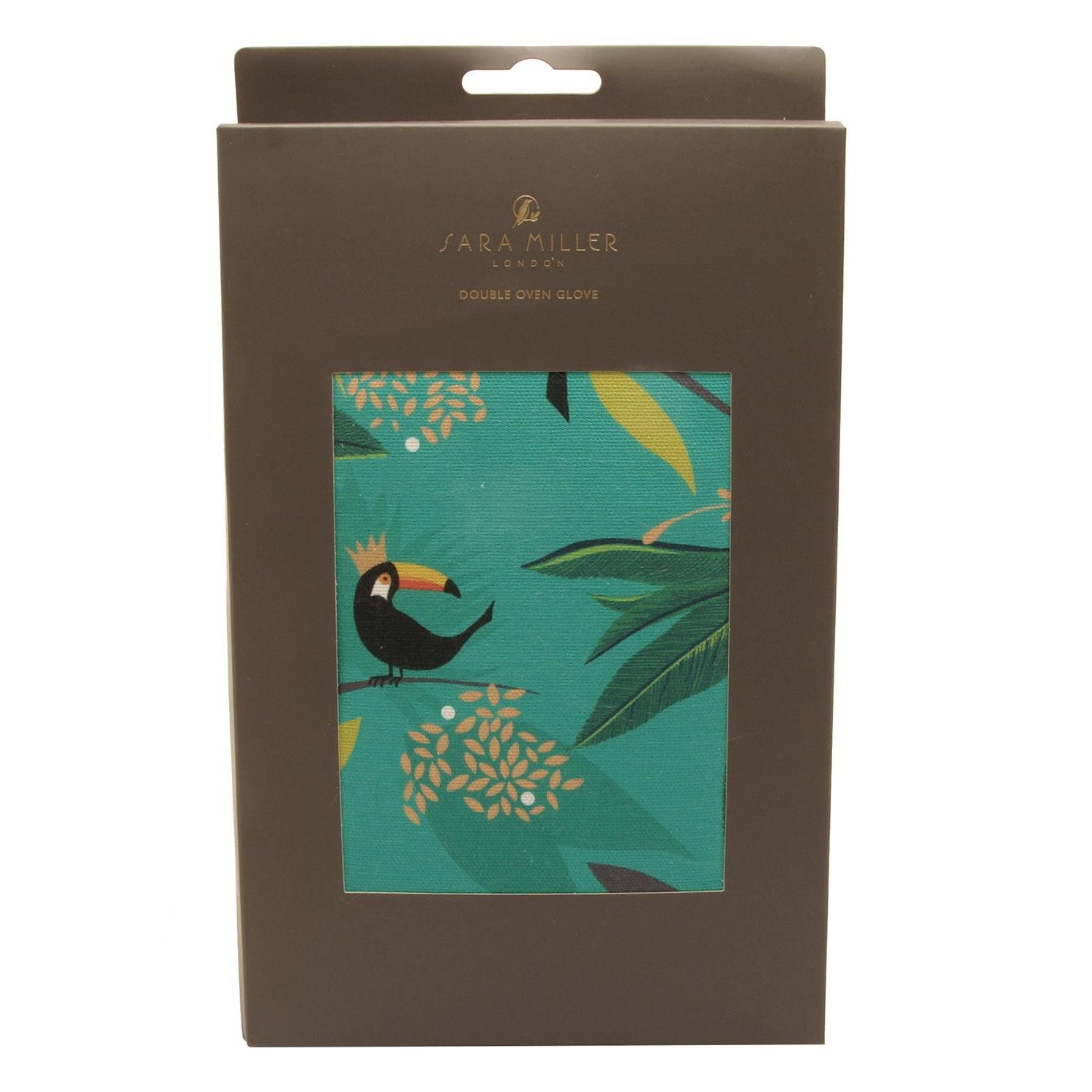 Sara Miller – Toucan Double Oven Glove in Presentation Gift Box