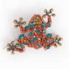 Powder – Multi Coloured Toucan Brooch on Presentation Card