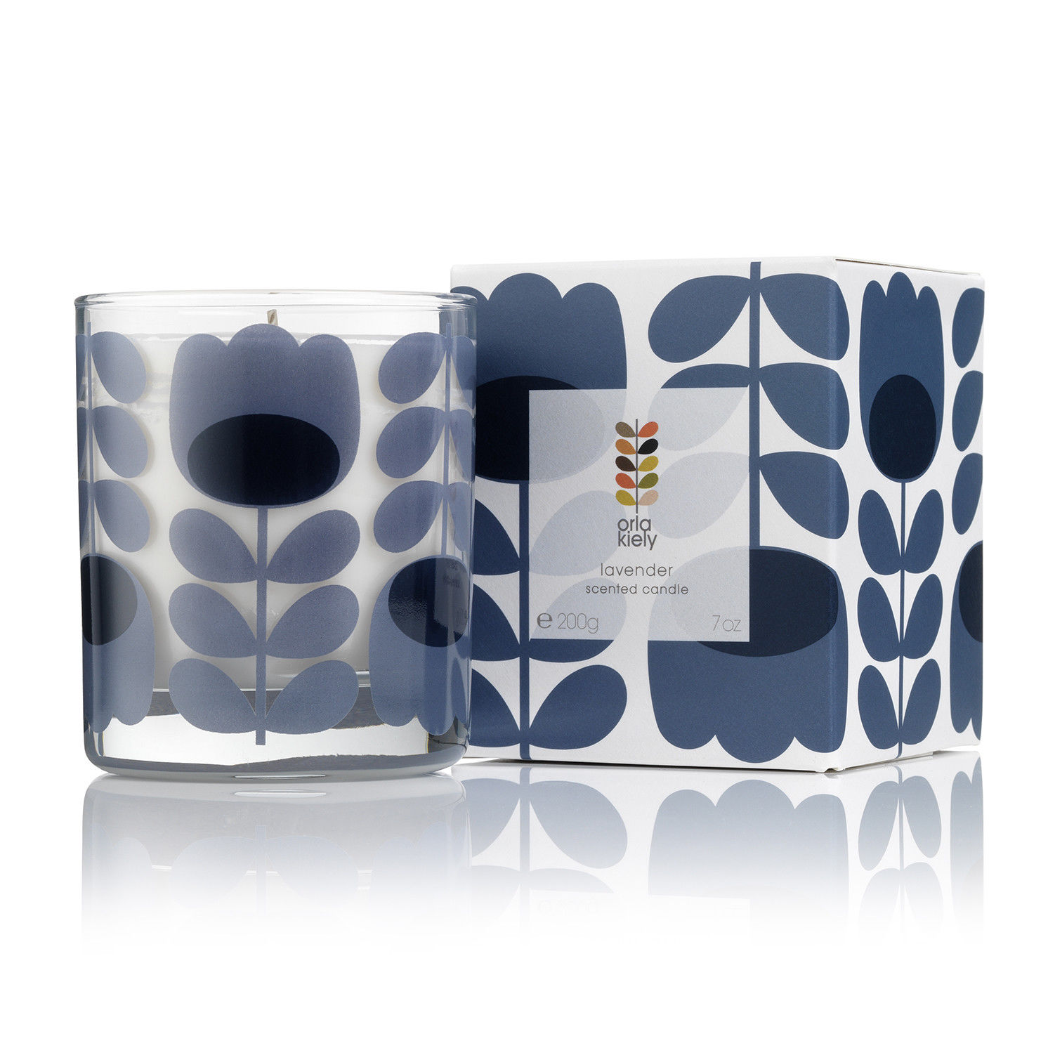Orla Kiely – Lavender Scented Candle in Presentation Gift Box