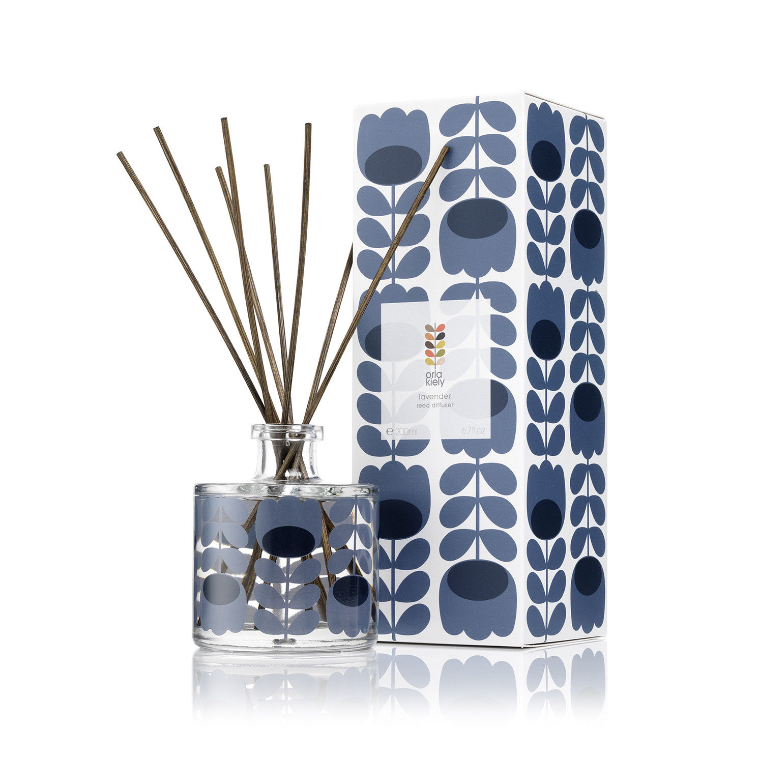 Orla Kiely – Lavender Scented Reed Diffuser in Presentation Gift Box