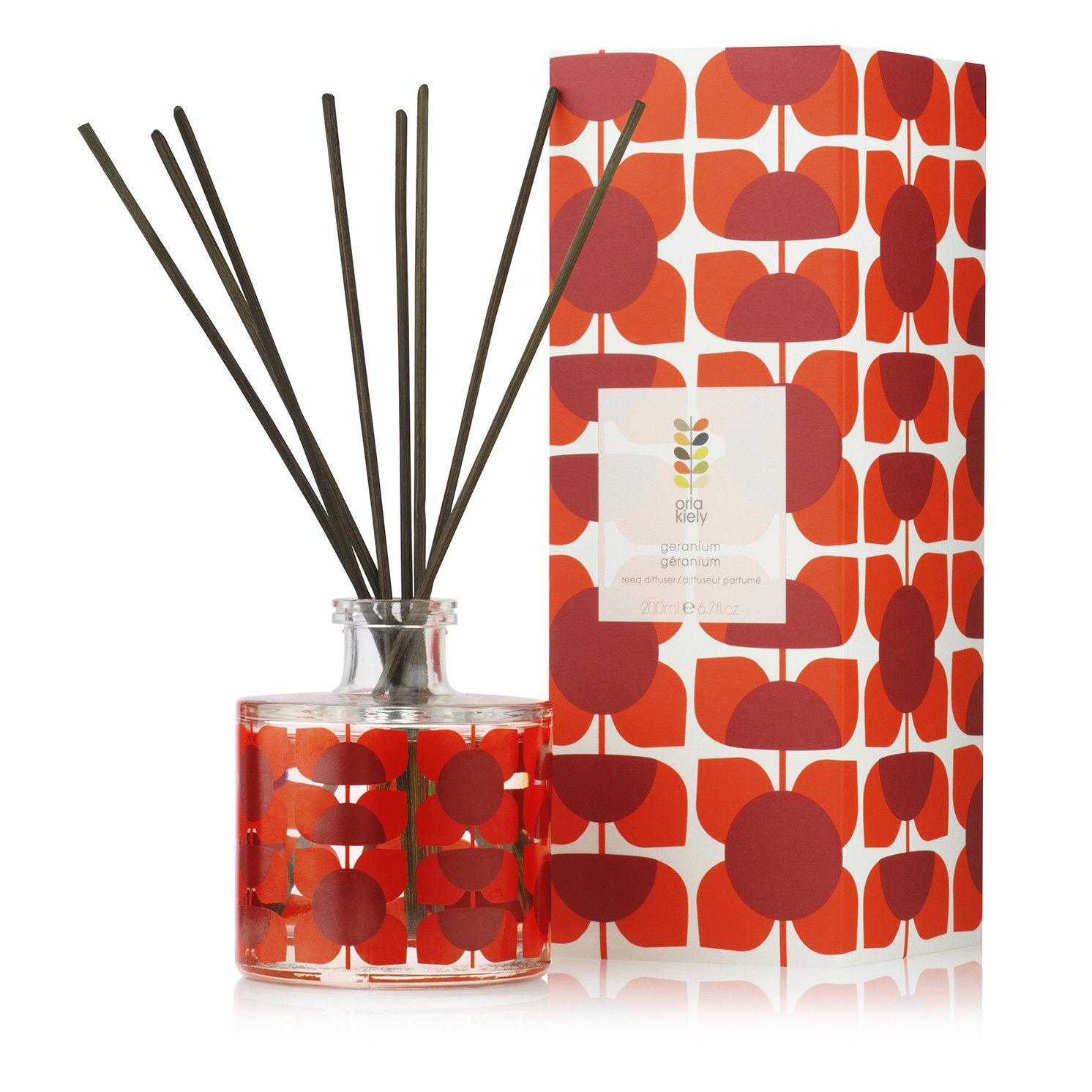 Orla Kiely – Geranium Scented Reed Diffuser in Presentation Gift Box