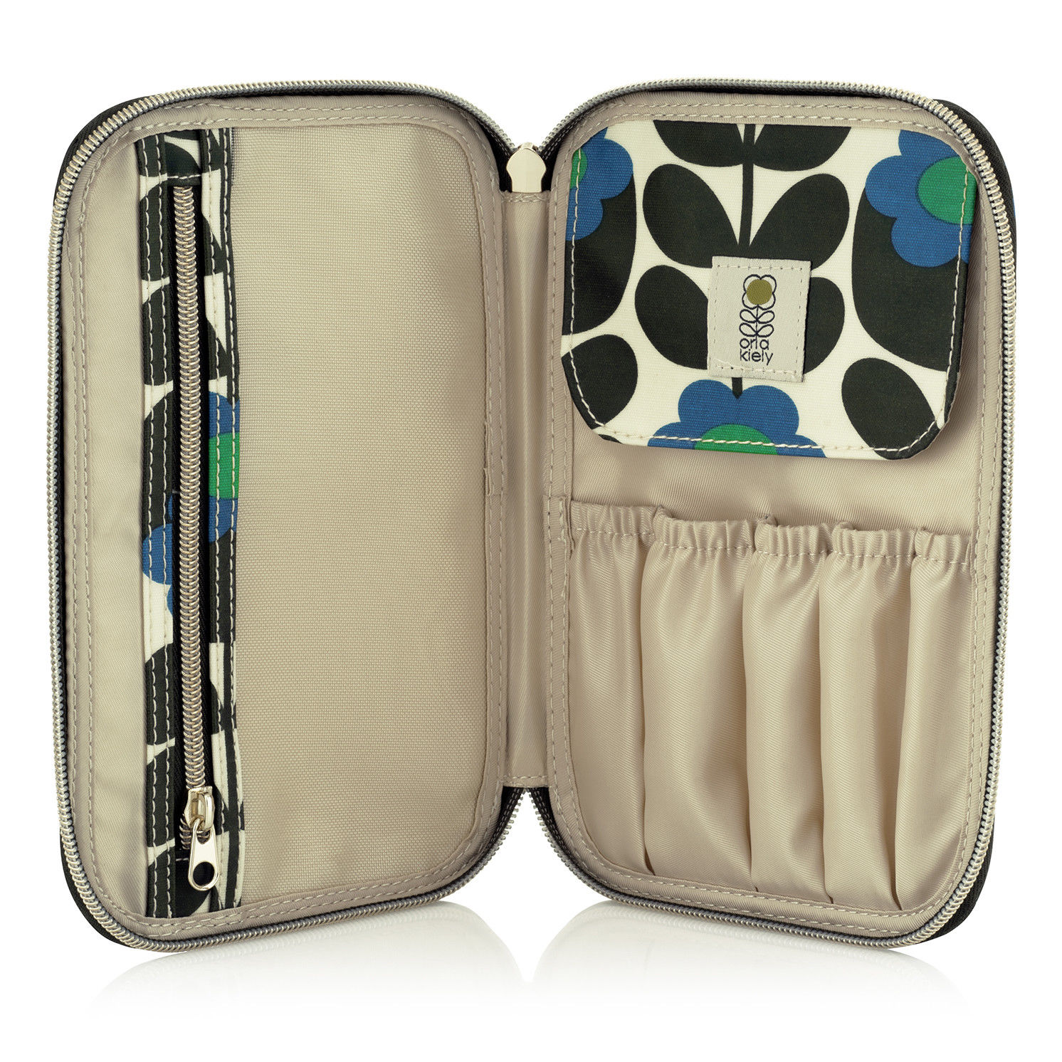Orla Kiely – Primrose Collection Cosmetic Brush Case